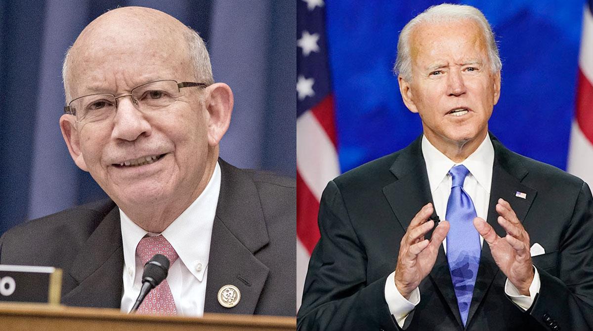 Peter DeFazio and Joe Biden