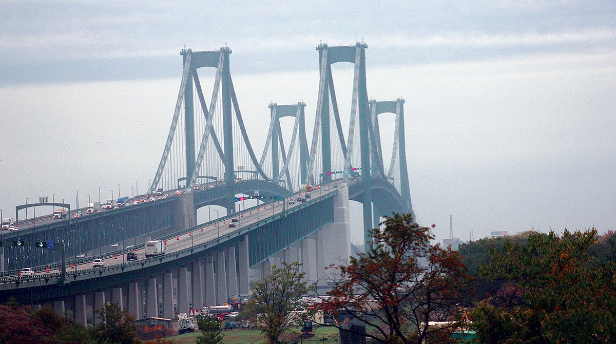 Delaware Memorial Bridge on 1-95