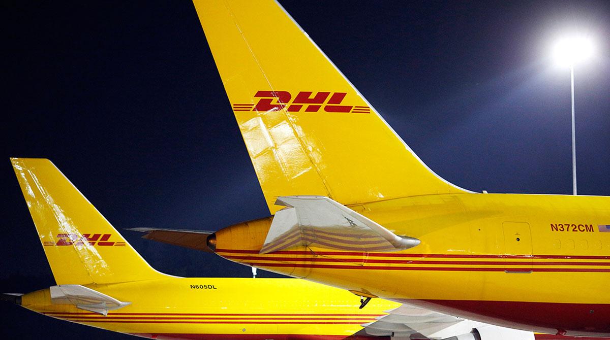 DHL cargo planes