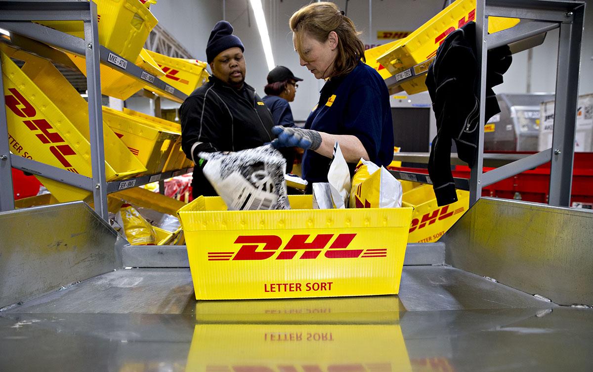 DHL Express facility