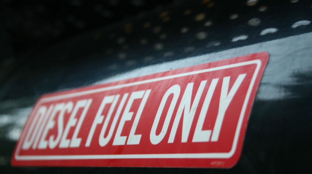 Diesel Fuel Only