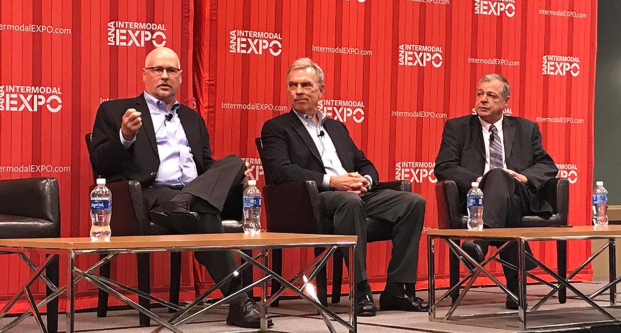 David Hensal, John Larkin and Joe Rajkovacz