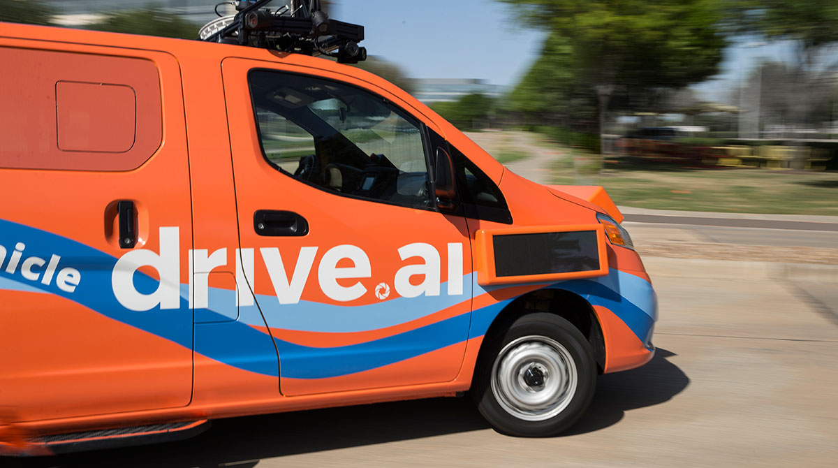 Drive.ai self-driving vehicle