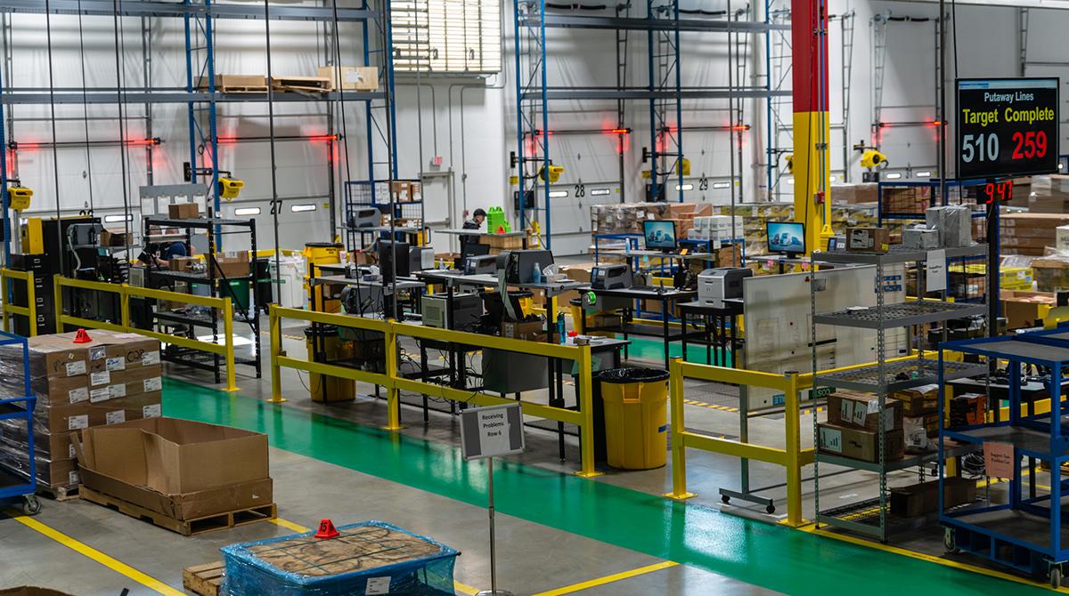DTNA warehouse