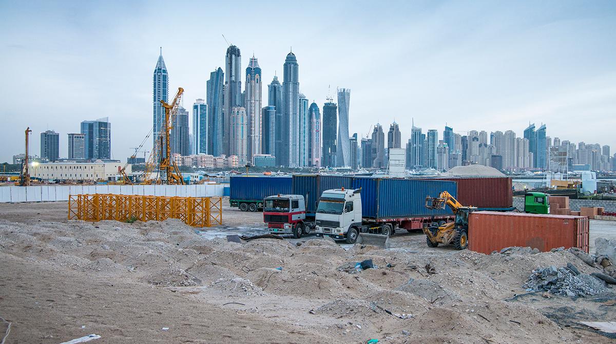 Trucks in Dubai