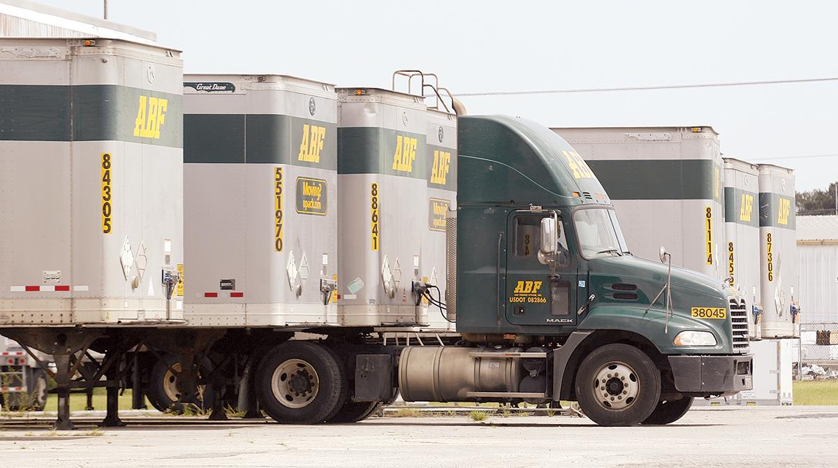 ABF trucks