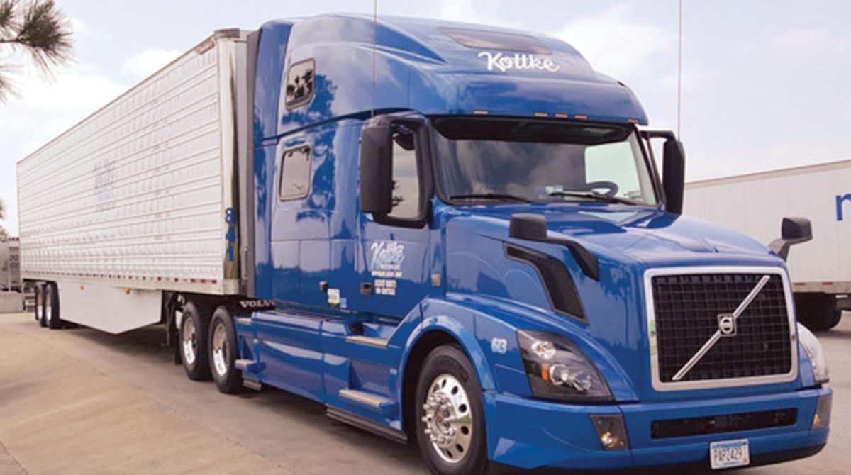 Kottke Trucking vehicle.