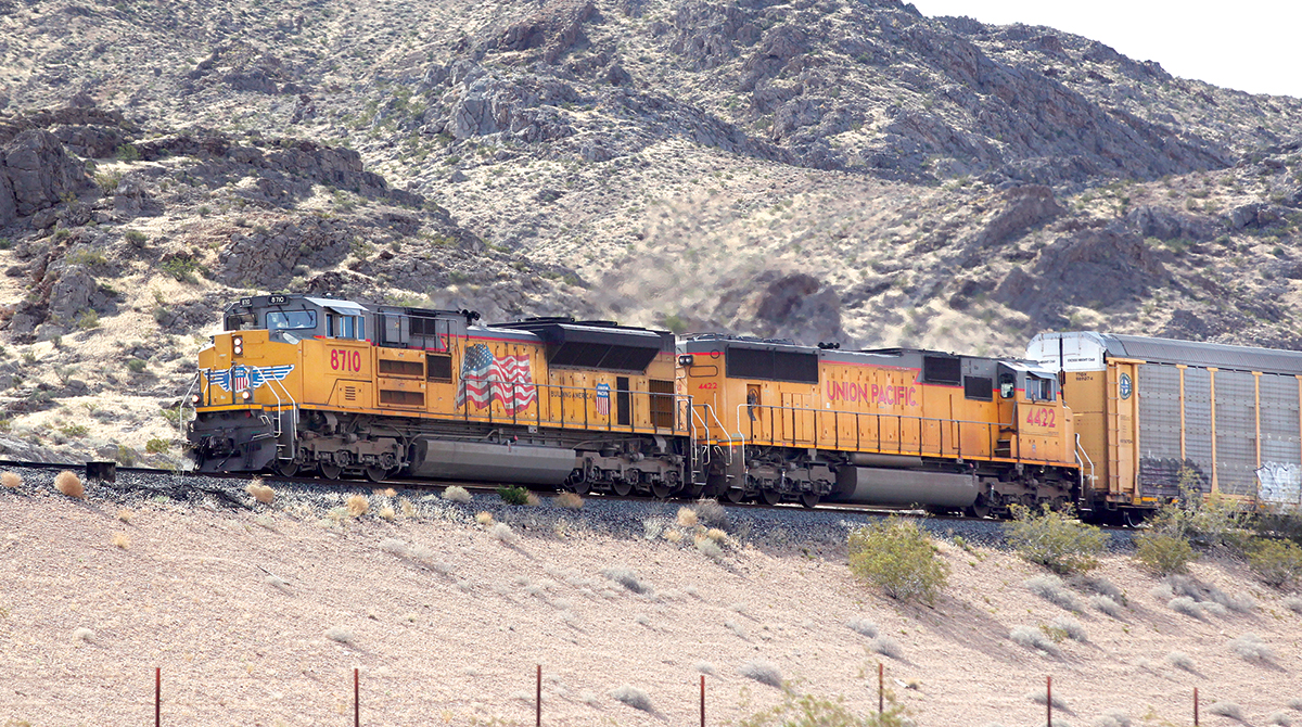 Union Pacific Sets Operating Ratio Record Despite Lower Quarterly Volumes