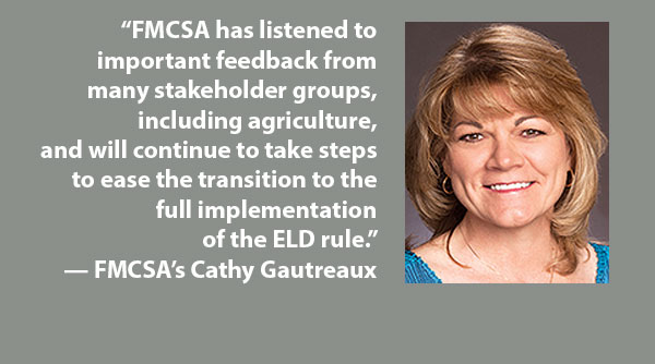 FMCSA's Cathy Gautreaux
