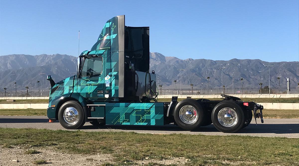 VNR electric truck