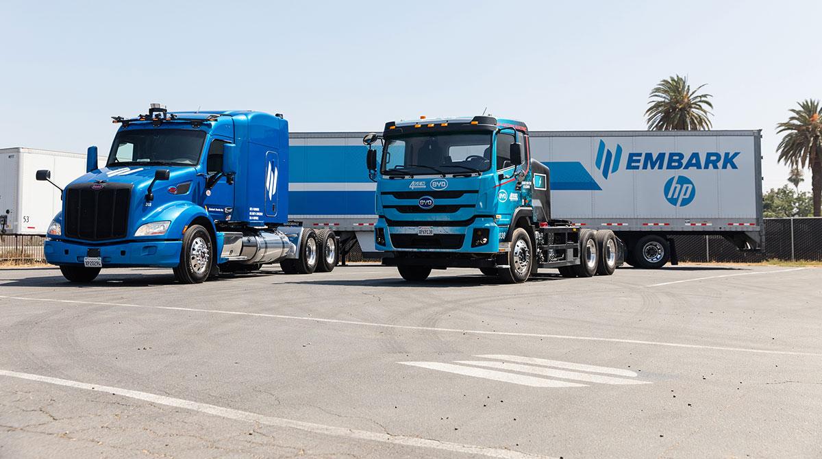 Embark HP trucks