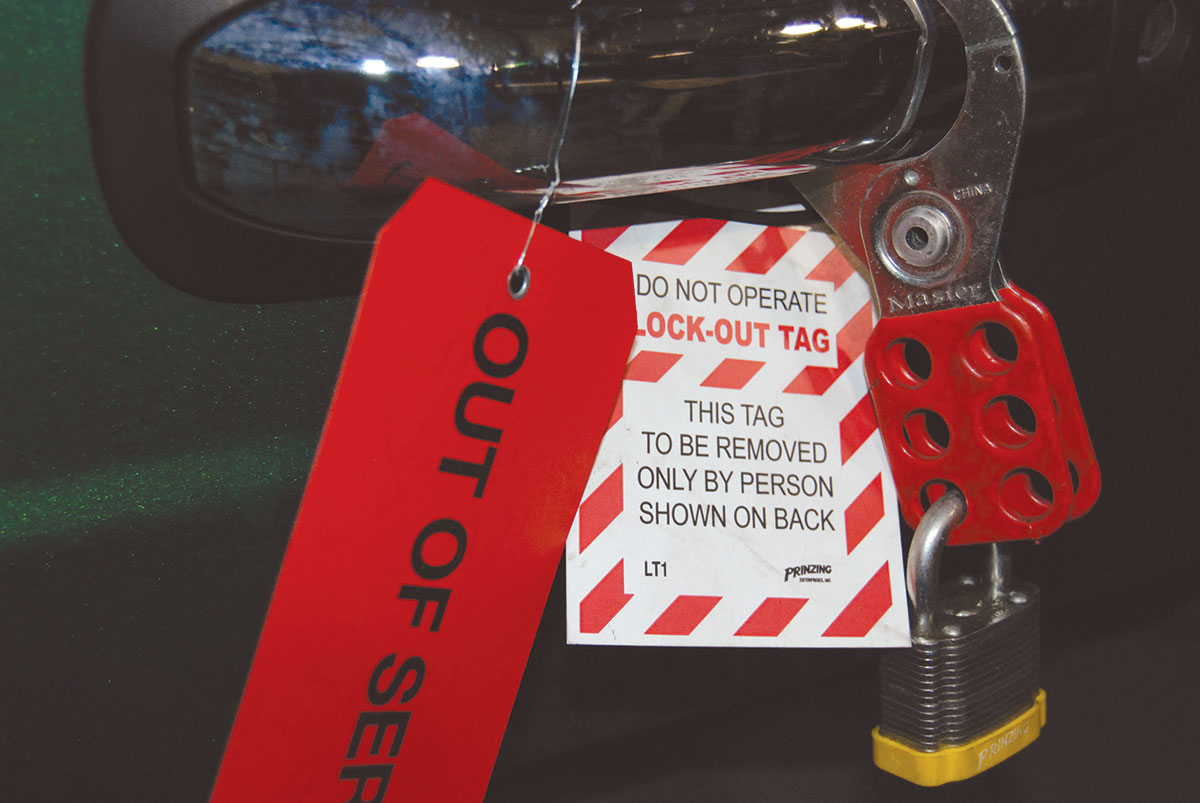 Lockout Tagout Helps Fleets Ensure The Safety Of