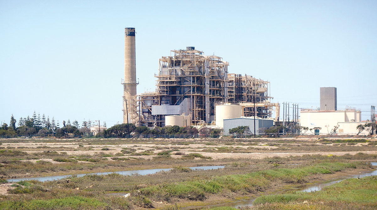 California electric power generating plant