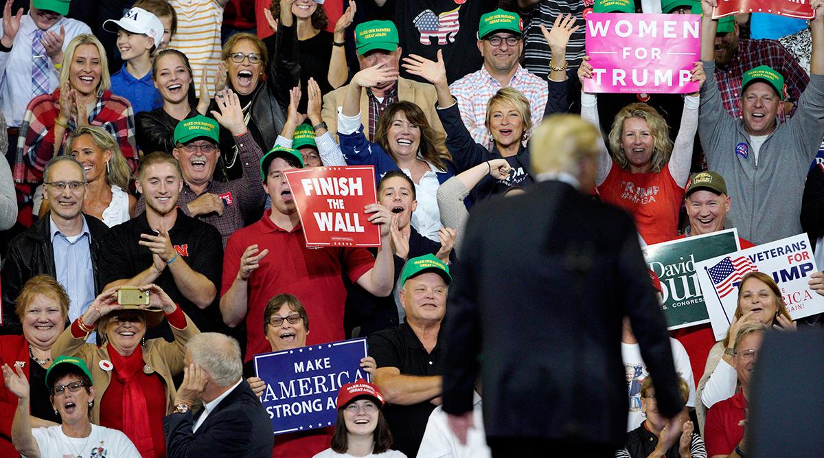 President Trump in Iowa