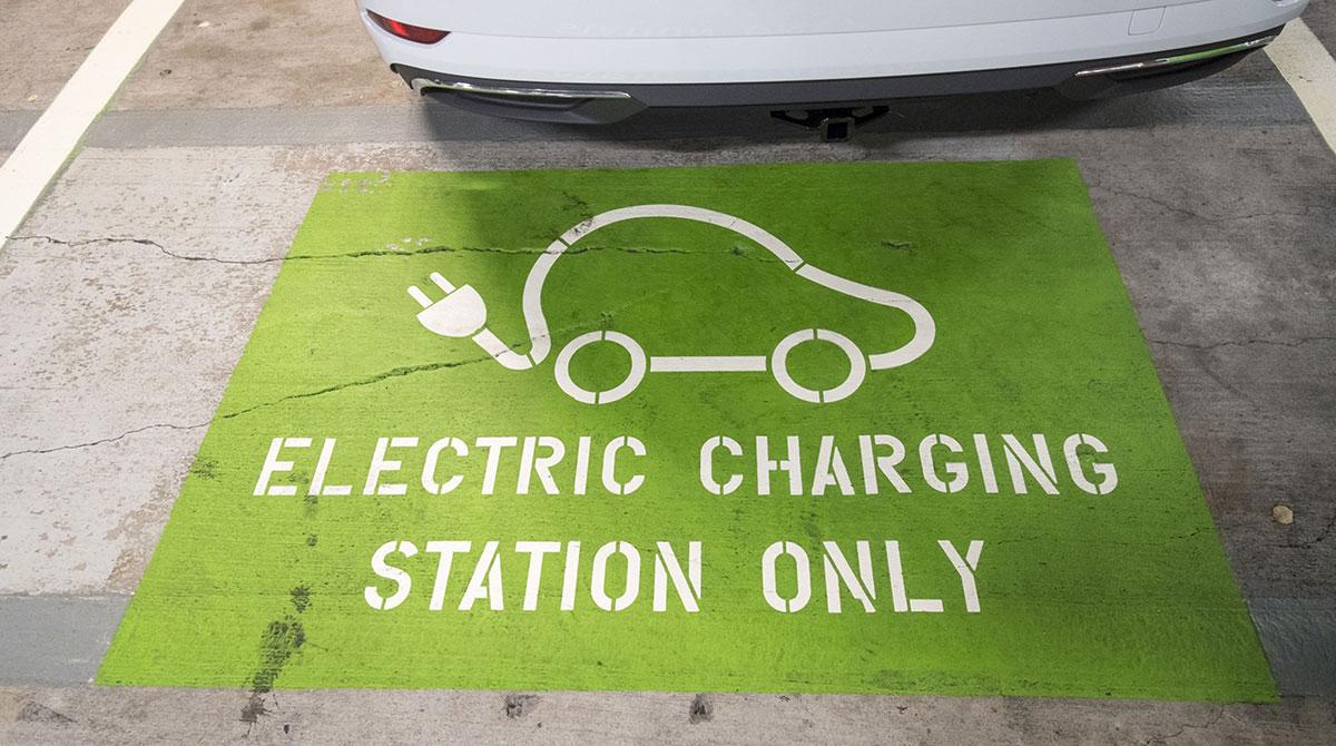 EV charging spot