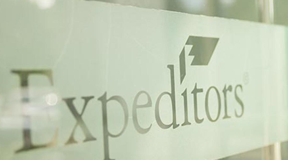 Expeditors International of Washington sign