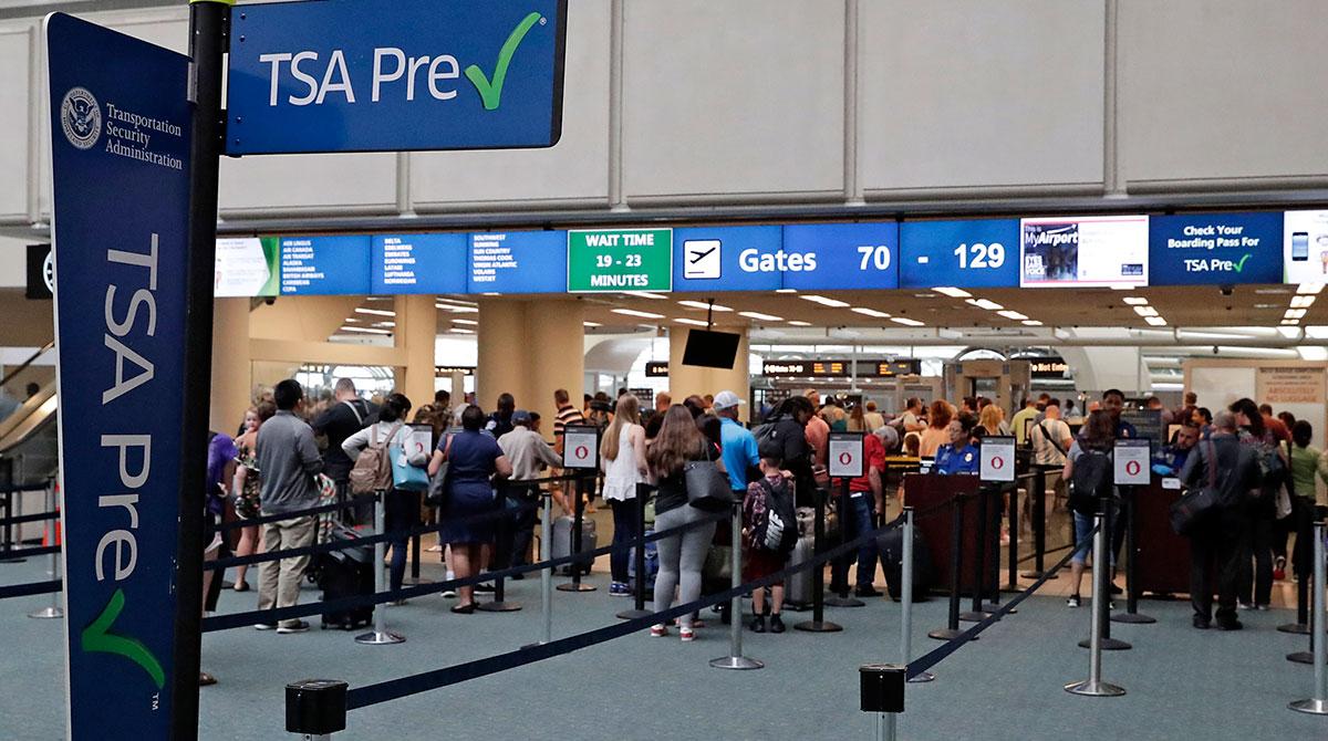 TSA Precheck at Orlando International Airport