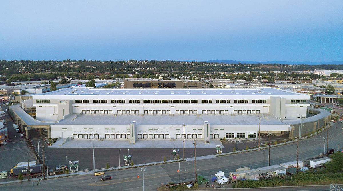 Prologis warehouse near Seattle