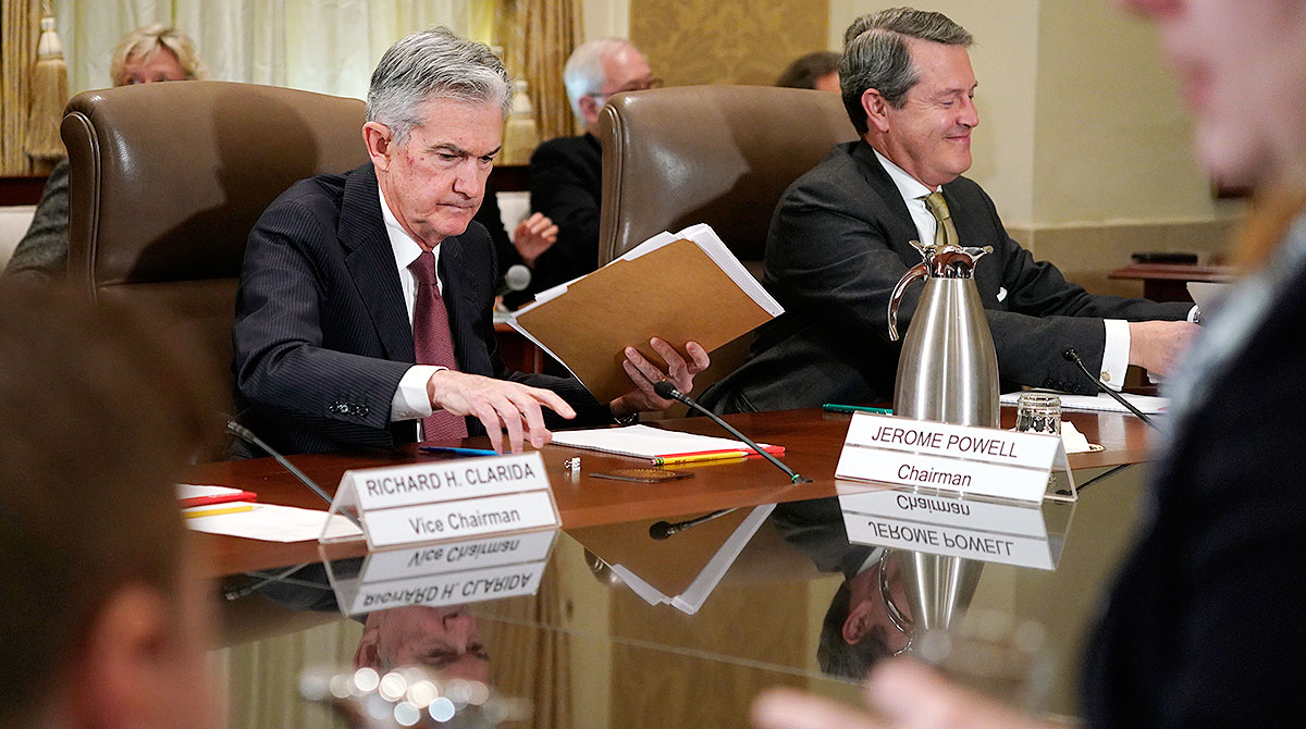 Jerome Powell and Randal Quarles
