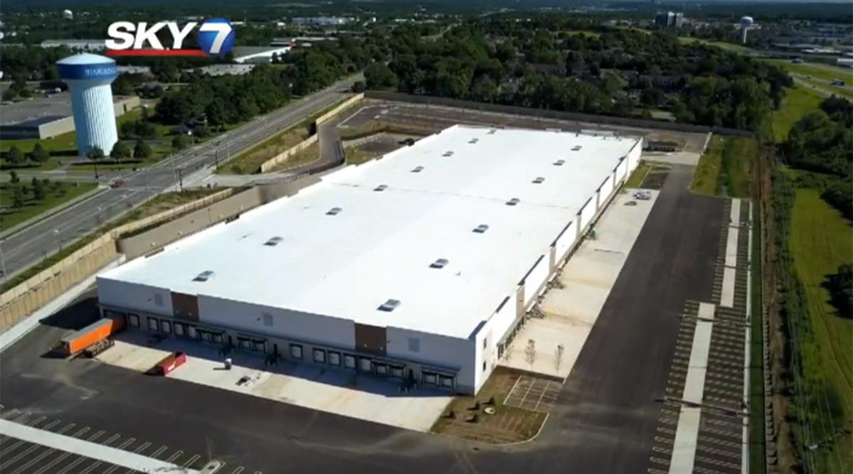 FedEx distribution center in Dayton