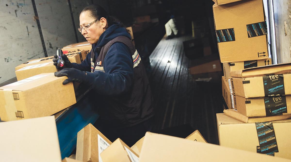FedEx Worker