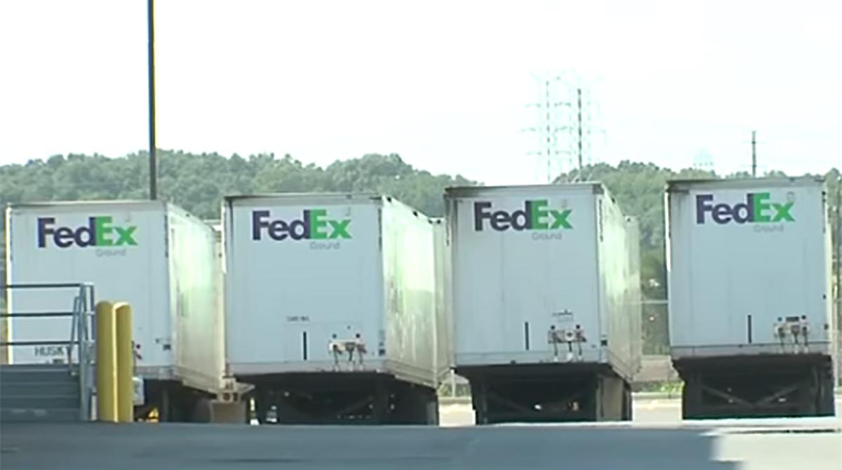 FedEx Ground trucks