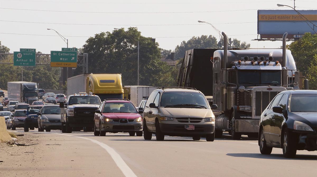Interstate 65 in Kentucky