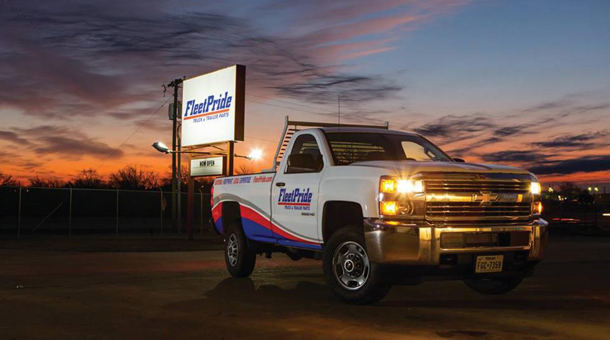 FleetPride truck