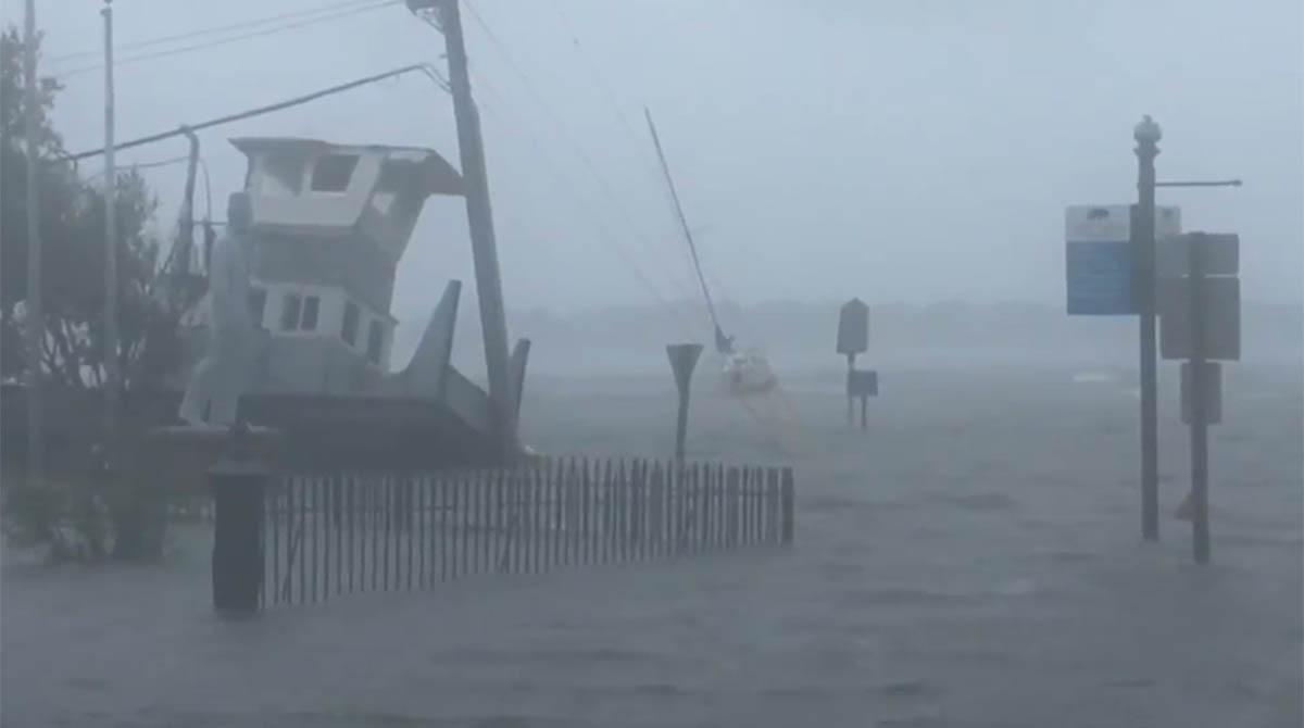 Hurricane Florence in New Bern, N.C.