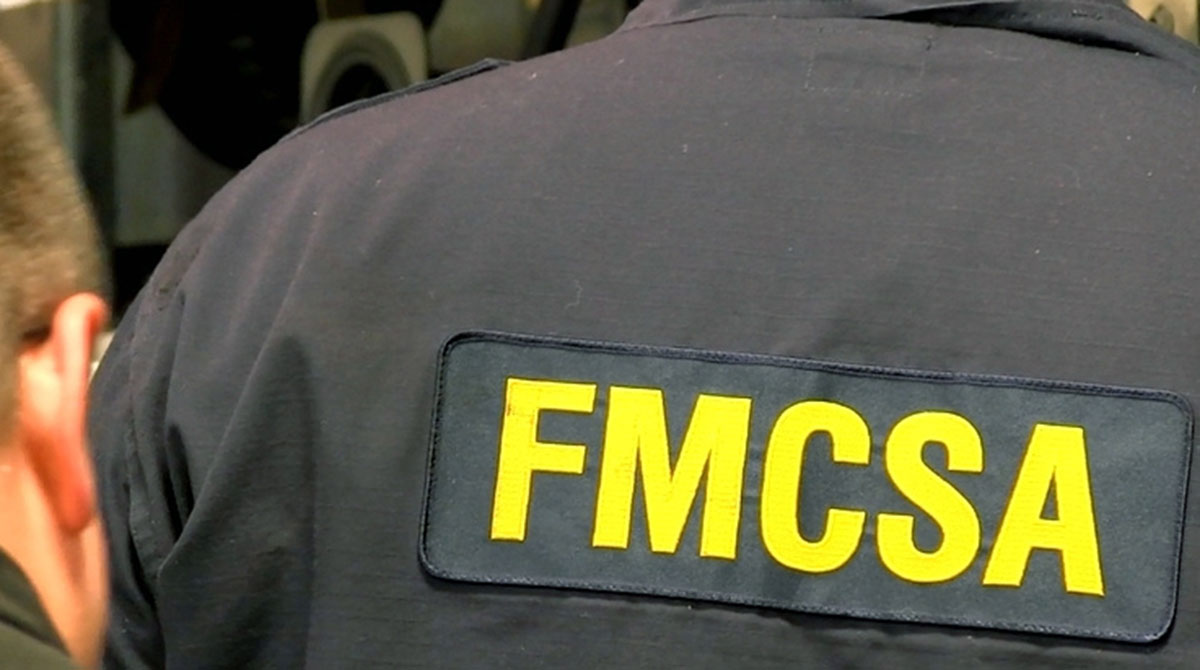 FMCSA inspector