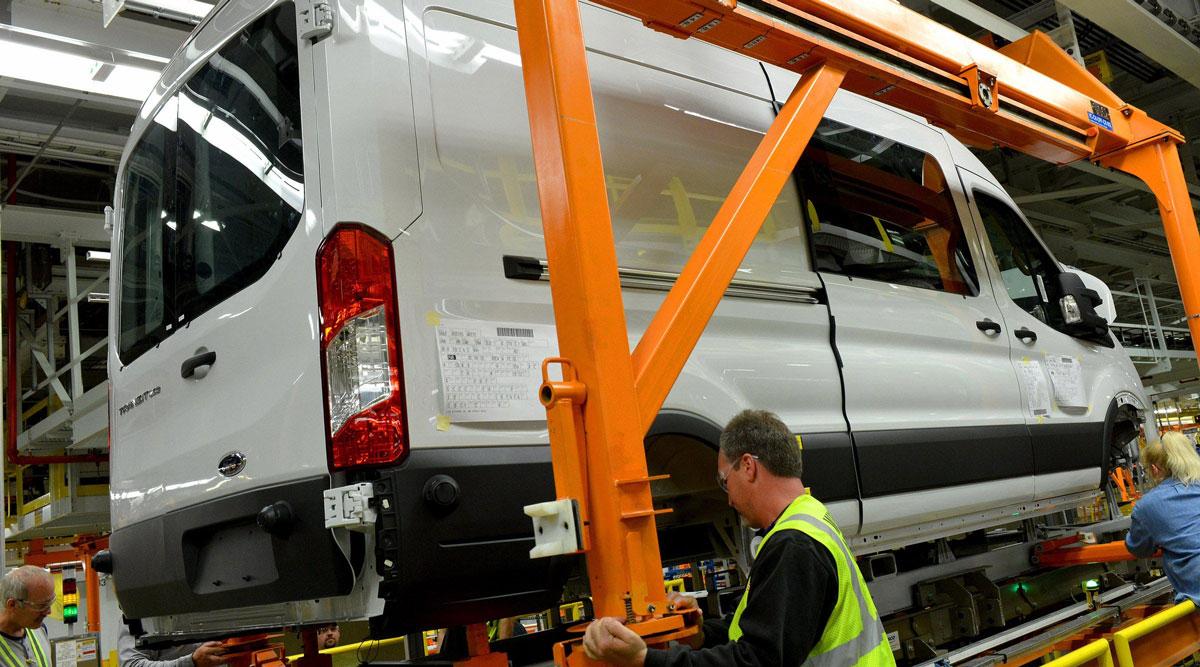 Ford will make the E-Transit van at its Kansas City Assembly Plant.