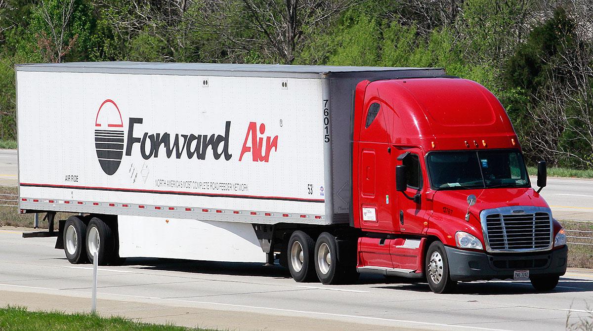 Forward Air truck