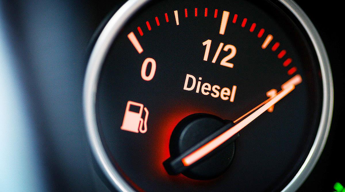 diesel fuel gauge