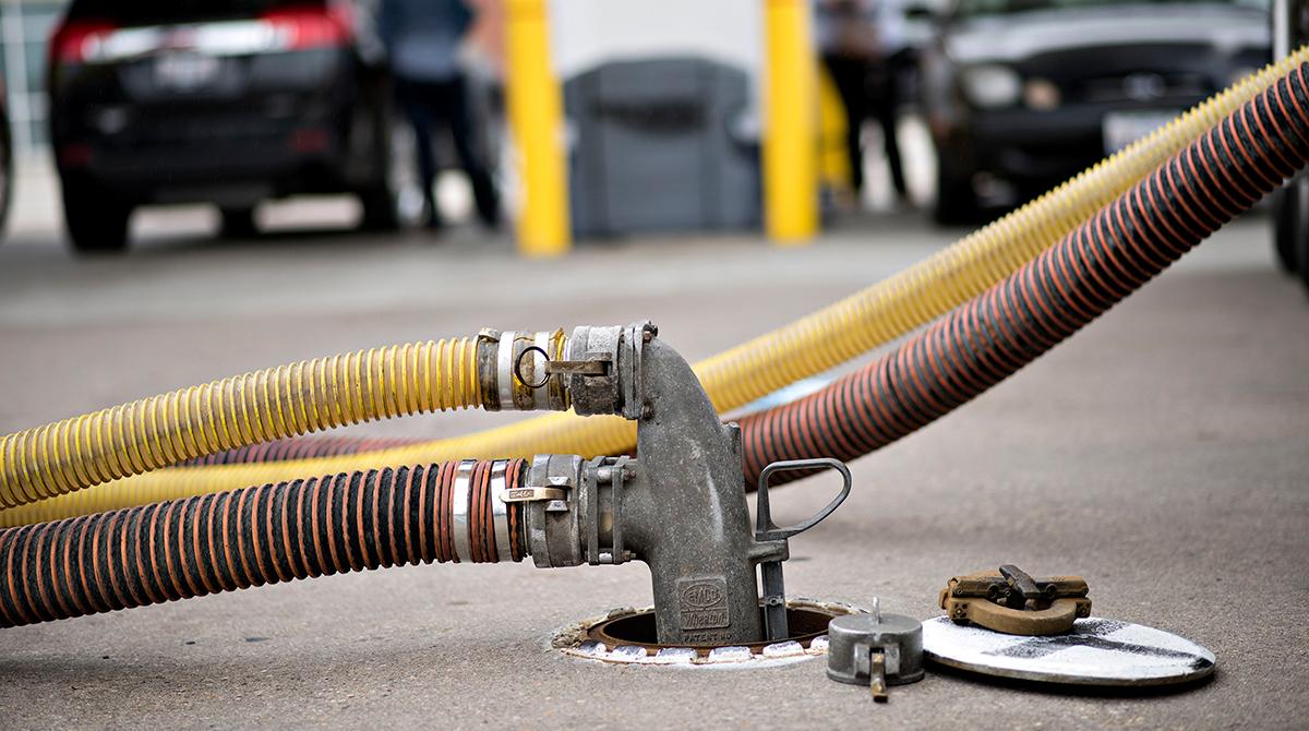 Diesel fuel hose