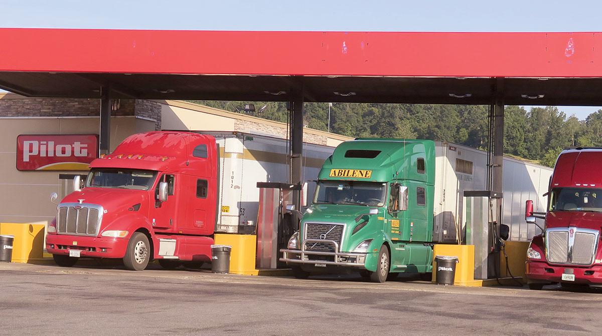 Fuel station in Virginia