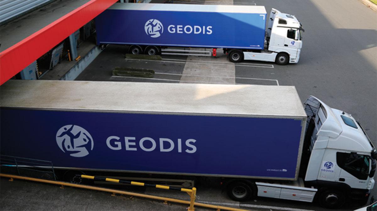 Geodis truck