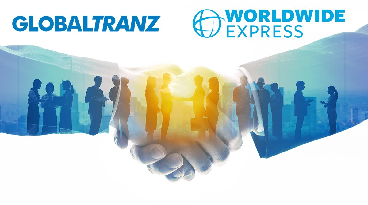 GlobalTranz and Worldwide Express logos