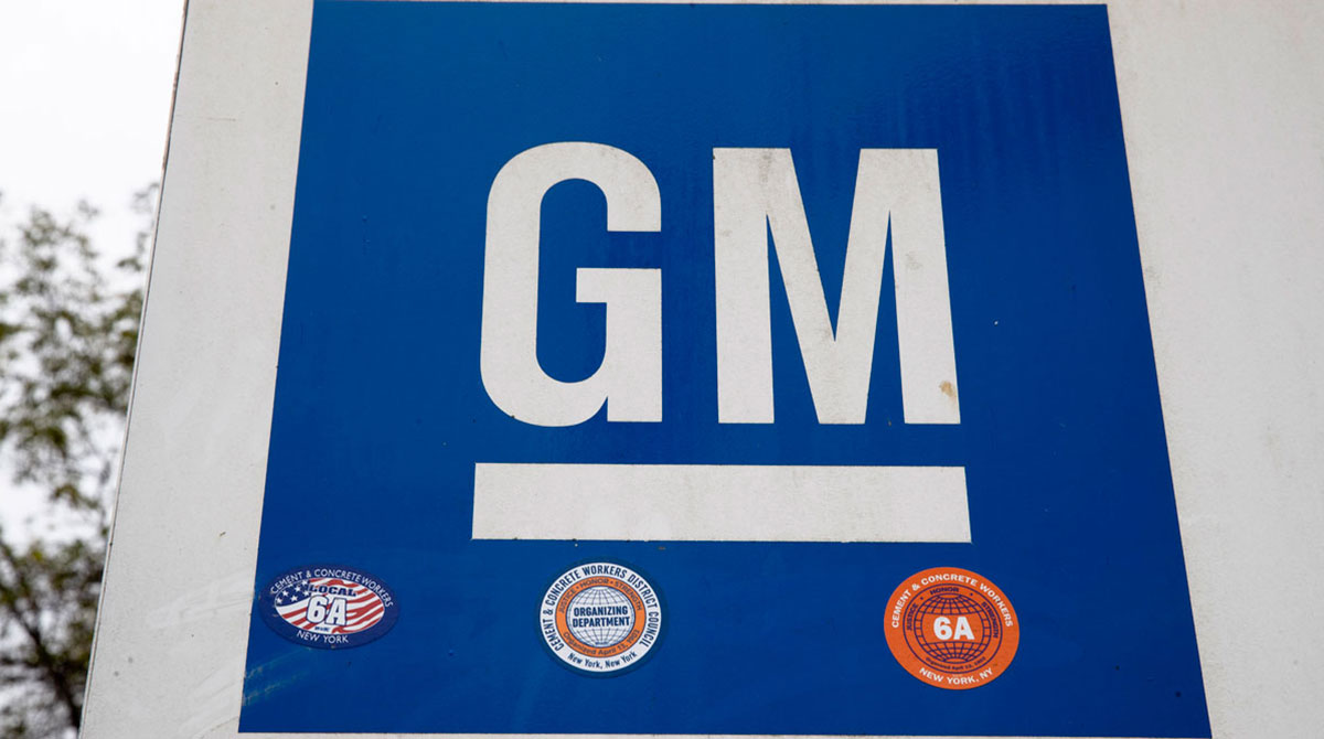 GM sign