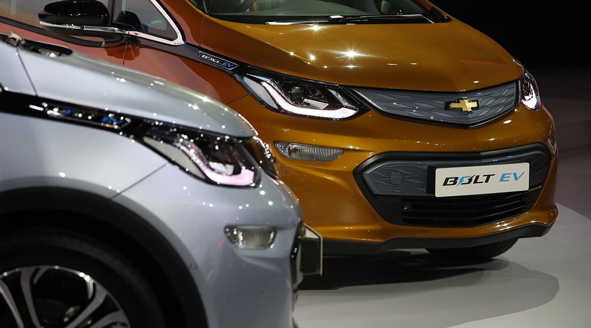 Chevrolet Bolt electric vehicles