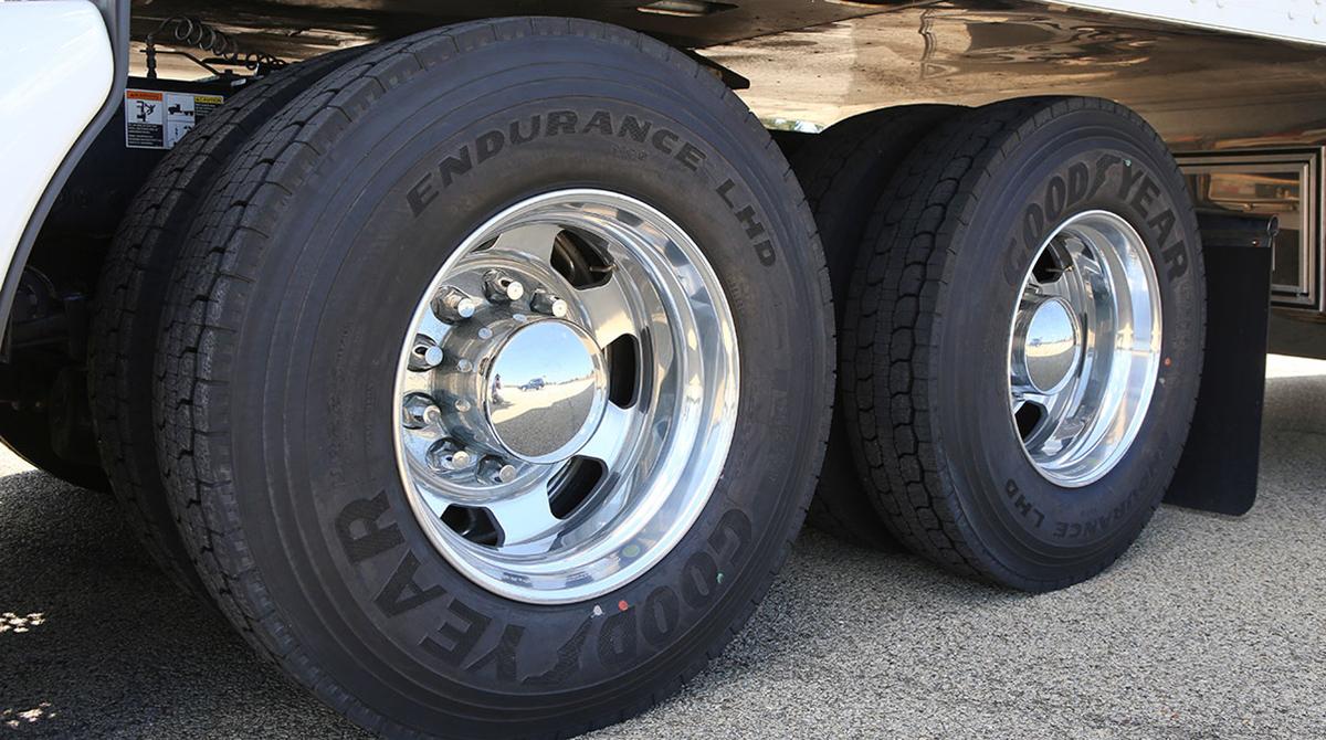 Goodyear Endurance LHD tire