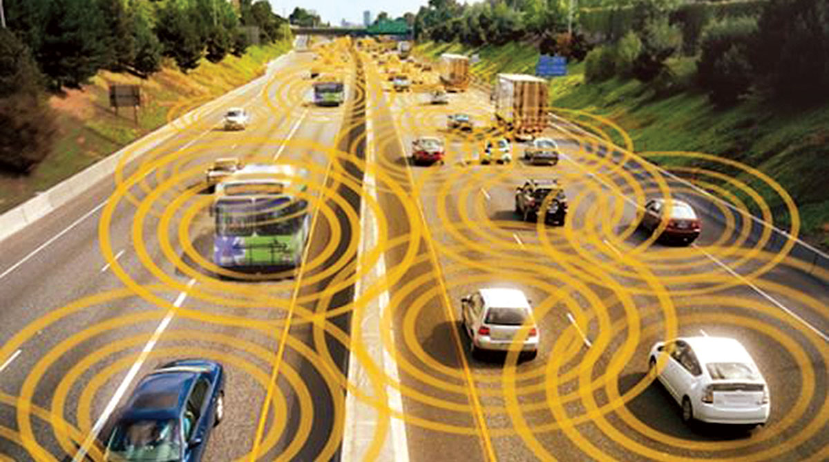 """Autonomous vehicles """"talk"""" to each other"""