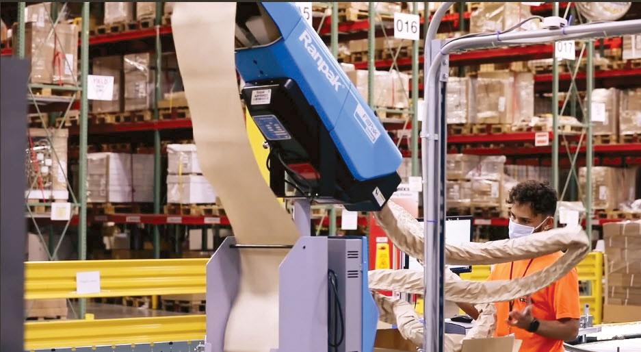 GXO Logistics warehouse worker