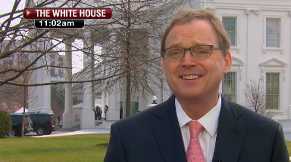 White House Economic Adviser Kevin Hassett