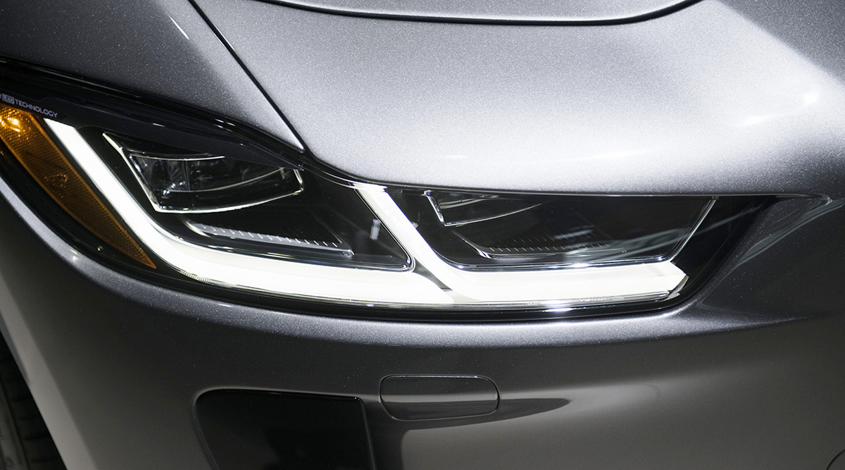 Self-dimming Headlights