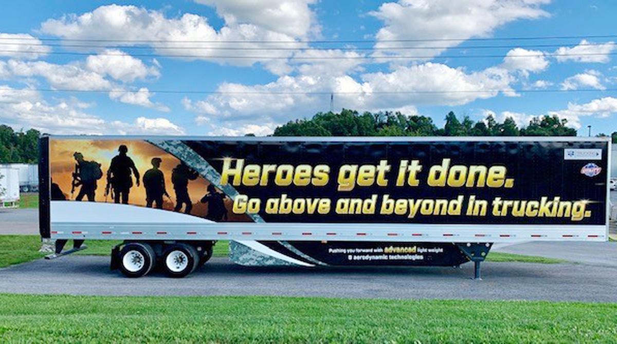 Utility trailer Heroes truck