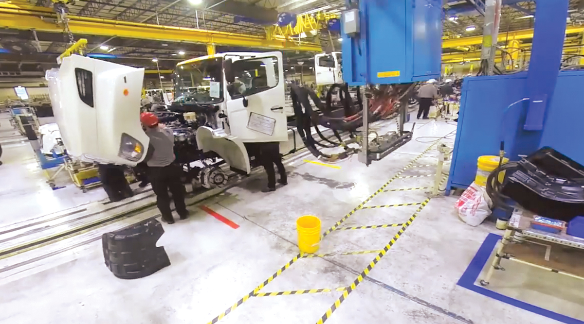 Hino's truck assembly plant in West Virginia. (Hino Motors Manufacturing U.S.A.)