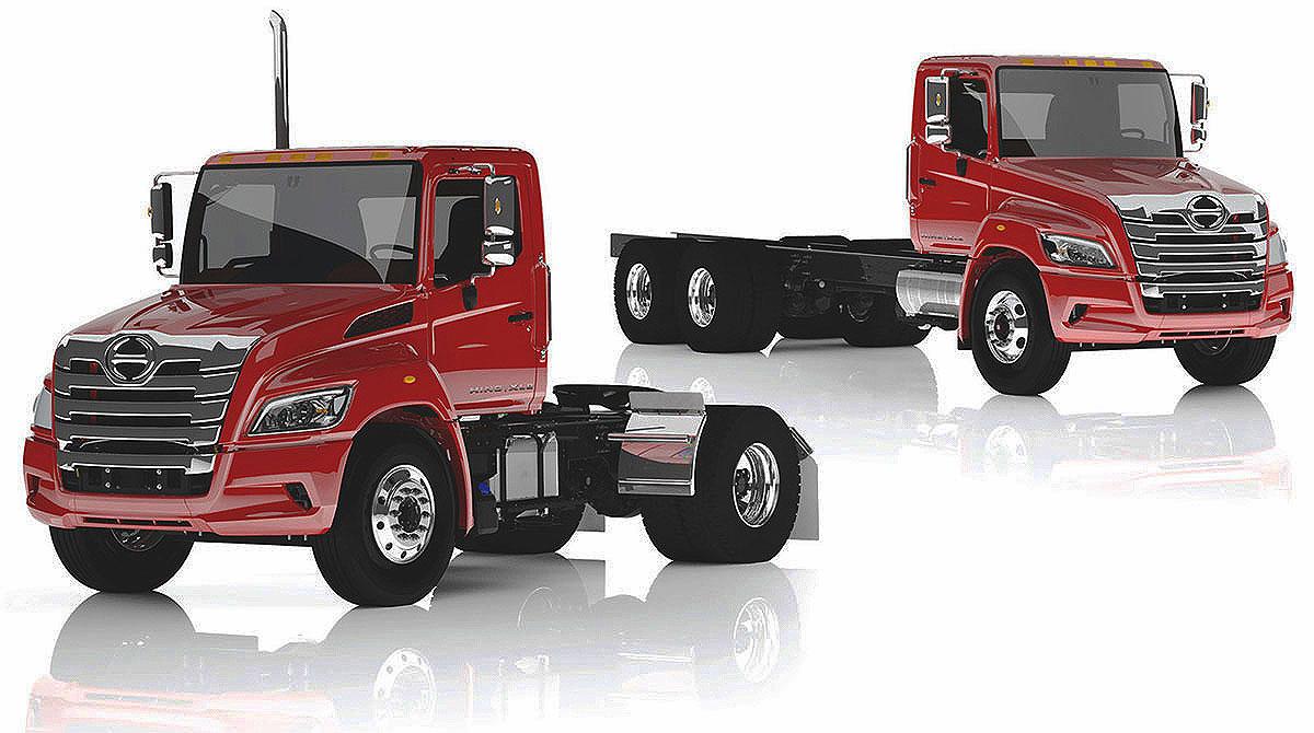 Hino XL trucks