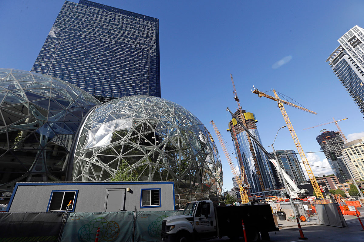 Amazon HQ in Seattle