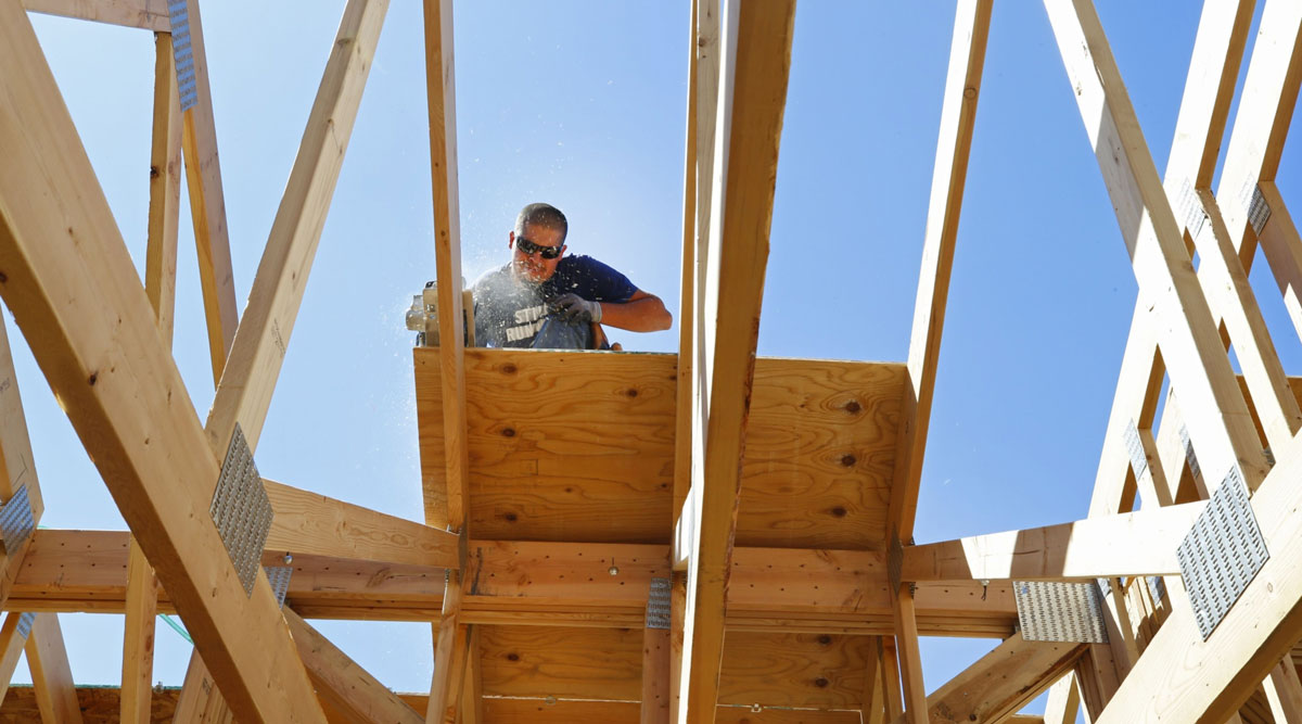 U.S. home construction starts surged in July.