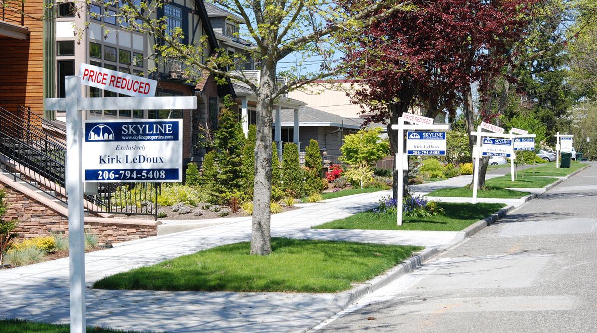Previously-owned homes for sale in Seattle